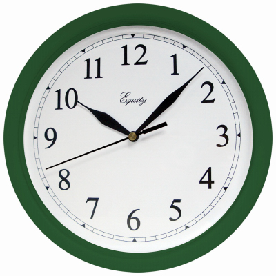 "10""HGRN Plas Wall Clock"