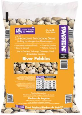.5CUFT River Pebbles