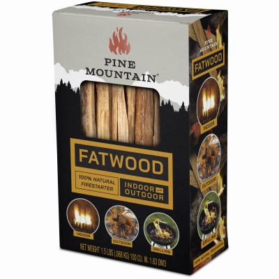 1.5LB Fatwood Kindling