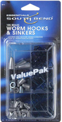 105PC Hook/Sinker ASSTD