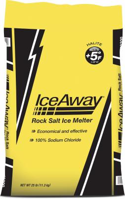 IceAWay 25LB DeIci Salt - Woods Hardware