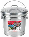 10-Gallon Galvanized Steel Trash Can