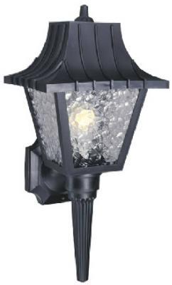 "8"" SQ BLK Wall Lantern"