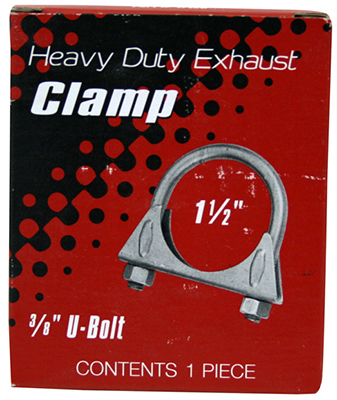 "1-1/2"" HD Muffler Clamp"