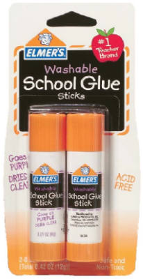 2PK.42OZ WashGlue Stick