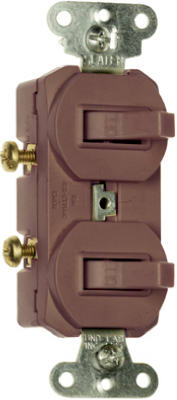 15A BRN 2SP Switches