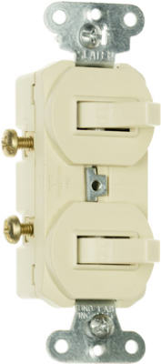 15A IVY 2SP UL Switches - Woods Hardware