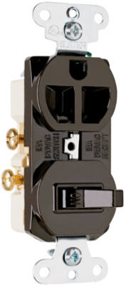 15A BRN Switch/Outlet