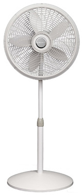 """18""""Sand Osc ADJ Ped Fan"""