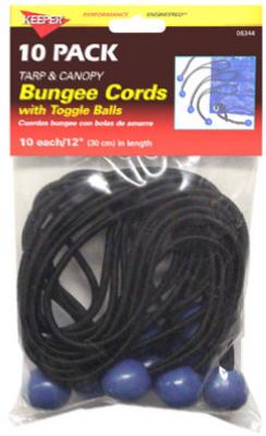 10PK Bungee Ball Cord