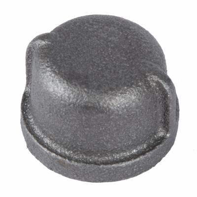1-1/4 BLK Pipe Cap