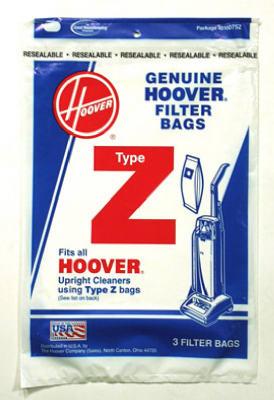 3PK Hoover Z Vac Bag