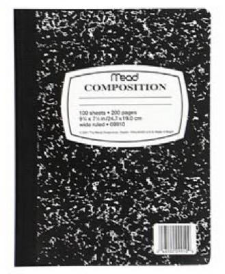 100CT Composition Book