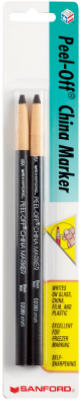 2PK BLK China Marker