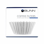 BUNN-O-MATIC BCF100-B 100 Pack, Coffee Filter, Fits Most Home Brewers.<br>Made in: US