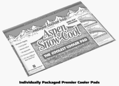 22x34 Aspen Cooler Pad