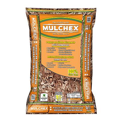 2CUFT NAT Cedar Mulch - Woods Hardware