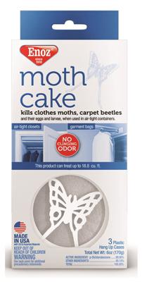 3PK2OZ Moth Cake/Hanger