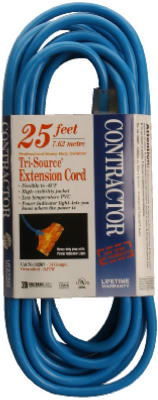 25 PWR Block EXT Cord