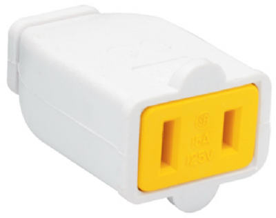 15A WHT Polar Connector - Woods Hardware