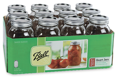 Ball 12PK QT Mason Jar