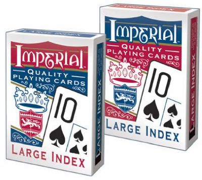 LG Index Poker Cards