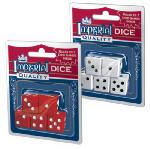 PLAYMONSTER LLC 1454 Imperial, 5 Pack, White Dice.<br>Made in: CN