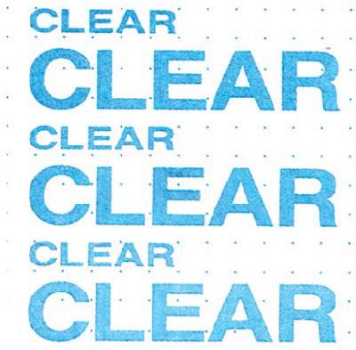 """18""""x9 Adhes CLR Liner"""