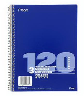 120CT 3Sub Notebook