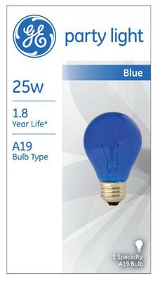 25W Tran BLU Party Bulb