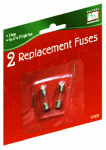 NOMA/INLITEN-IMPORT 1015-88 Holiday Wonderland, 2 Pack, 5A, Replacement Fuses, For All Standard