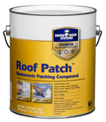 .9GAL WHT Roof Compound
