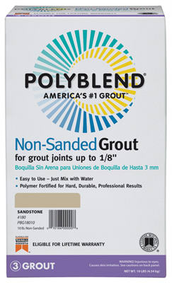 10LB Char NonSand Grout