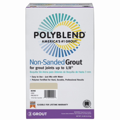 10LB Snow NonSand Grout
