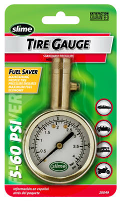 5-60PSI BRS Tire Gauge