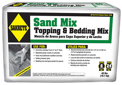 10LB Sakrete Sand Mix - Woods Hardware