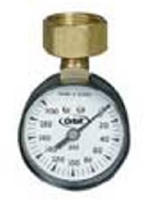 0-200PSI WTR Pres Gauge - Woods Hardware