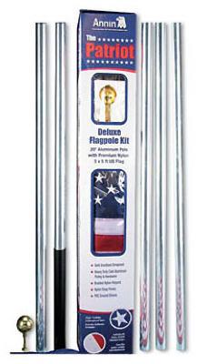 20 ALU Flag Pole Kit