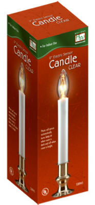 """HW 9"""" CLR Sensor Candle"""