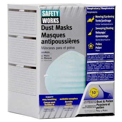 50PK NonToxic Dust Mask