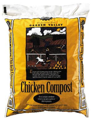 1CUFT Chicken Compost