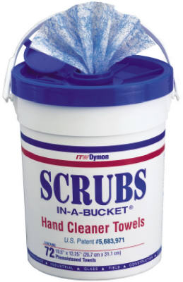 72CTScrubs Bucket Towel