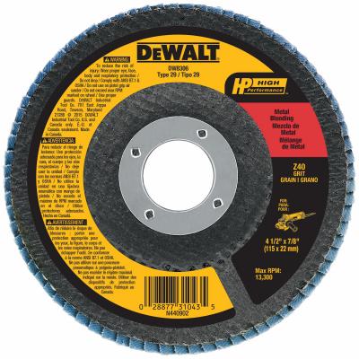 4-1/2x7/8 36G Flap Disc