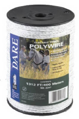 1312 WHT Poly Wire