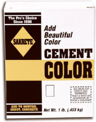 LB BRN Color Cement