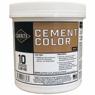 LB Buff Color Cement