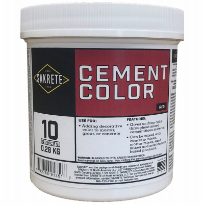 LB RED Color Cement