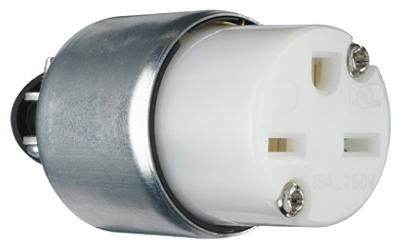 15A WHT Armor Connector