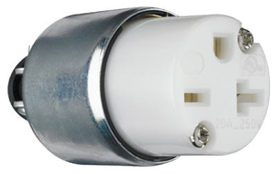 20A WHT Armor Connector - Woods Hardware