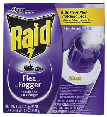 Raid3PK 5OZ Flea Fogger
